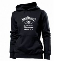Женская толстовка Jack Daniels Tennessee - FatLine