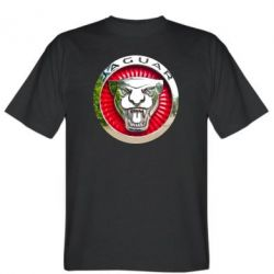 Мужская футболка Jaguar emblem