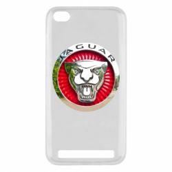 Чехол для Xiaomi Redmi 5a Jaguar emblem