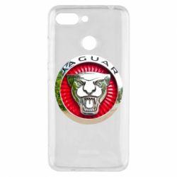 Чехол для Xiaomi Redmi 6 Jaguar emblem