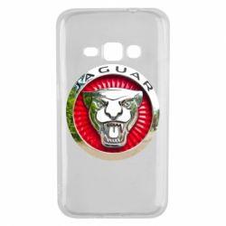 Чехол для Samsung J1 2016 Jaguar emblem