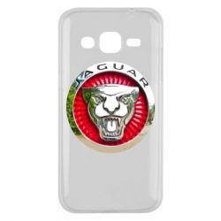 Чехол для Samsung J2 2015 Jaguar emblem