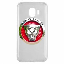 Чохол для Samsung J2 2018 Jaguar emblem