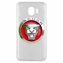 Чехол для Samsung J4 Jaguar emblem