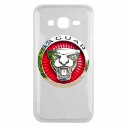 Чехол для Samsung J5 2015 Jaguar emblem