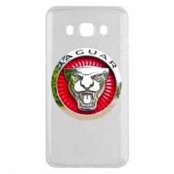 Чехол для Samsung J5 2016 Jaguar emblem