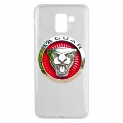 Чехол для Samsung J6 Jaguar emblem