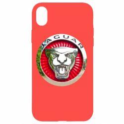 Чохол для iPhone XR Jaguar emblem