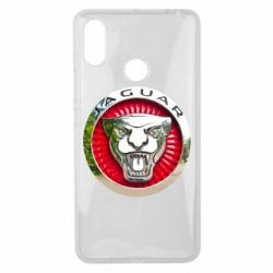 Чехол для Xiaomi Mi Max 3 Jaguar emblem