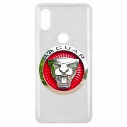 Чехол для Xiaomi Mi Mix 3 Jaguar emblem