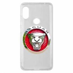 Чехол для Xiaomi Redmi Note 6 Pro Jaguar emblem