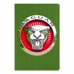 Блокнот А5 Jaguar emblem