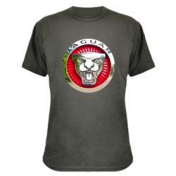 Камуфляжна футболка Jaguar emblem