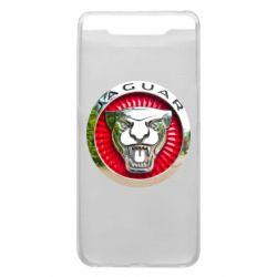 Чехол для Samsung A80 Jaguar emblem