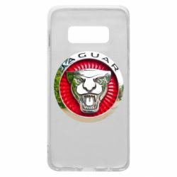 Чехол для Samsung S10e Jaguar emblem