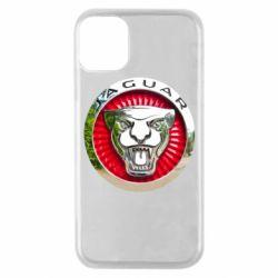 Чехол для iPhone 11 Pro Jaguar emblem