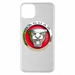 Чехол для iPhone 11 Pro Max Jaguar emblem