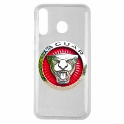 Чехол для Samsung M30 Jaguar emblem