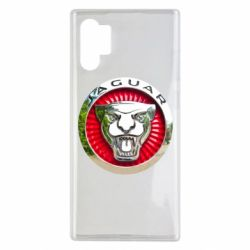 Чехол для Samsung Note 10 Plus Jaguar emblem