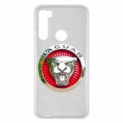Чехол для Xiaomi Redmi Note 8 Jaguar emblem