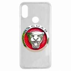 Чехол для Xiaomi Redmi Note 7 Jaguar emblem