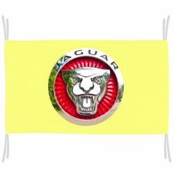 Флаг Jaguar emblem