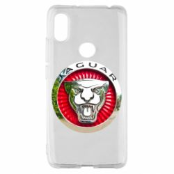 Чехол для Xiaomi Redmi S2 Jaguar emblem