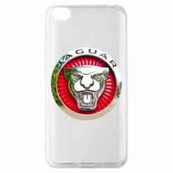 Чехол для Xiaomi Redmi Go Jaguar emblem