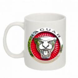 Кружка 320ml Jaguar emblem
