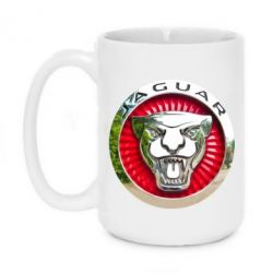Кружка 420ml Jaguar emblem