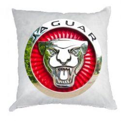 Подушка Jaguar emblem