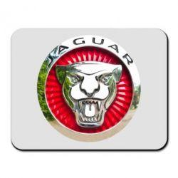 Килимок для миші Jaguar emblem