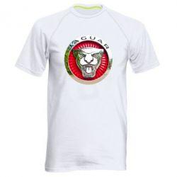 Мужская спортивная футболка Jaguar emblem