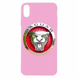 Чохол для iPhone X/Xs Jaguar emblem