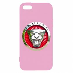Чохол для iphone 5/5S/SE Jaguar emblem