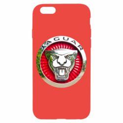 Чехол для iPhone 6/6S Jaguar emblem