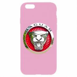 Чехол для iPhone 6 Plus/6S Plus Jaguar emblem