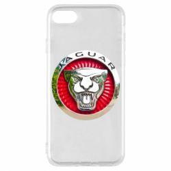 Чехол для iPhone 7 Jaguar emblem