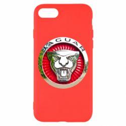 Чохол для iPhone 8 Jaguar emblem