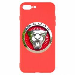 Чохол для iPhone 8 Plus Jaguar emblem