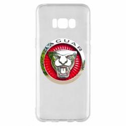 Чехол для Samsung S8+ Jaguar emblem