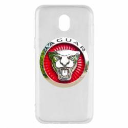 Чехол для Samsung J5 2017 Jaguar emblem