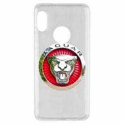 Чехол для Xiaomi Redmi Note 5 Jaguar emblem
