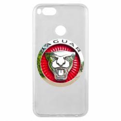 Чехол для Xiaomi Mi A1 Jaguar emblem