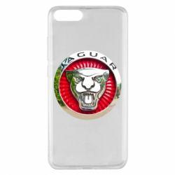 Чехол для Xiaomi Mi Note 3 Jaguar emblem