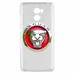 Чехол для Xiaomi Redmi 4 Jaguar emblem