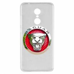 Чехол для Xiaomi Redmi 5 Jaguar emblem
