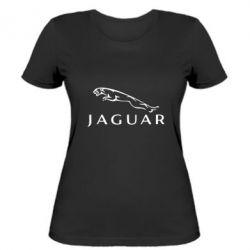 Женская футболка Jaguar - FatLine