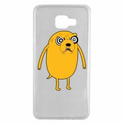 Чохол для Samsung A7 2016 Jake from  Adventure Time