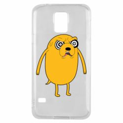 Чохол для Samsung S5 Jake from  Adventure Time